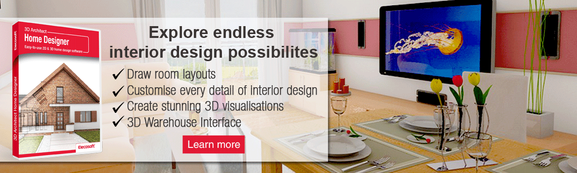 Create interior designs for your home