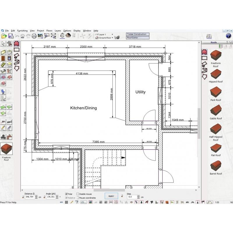 screenshot of floors plan