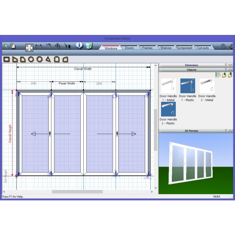 screen-shot of dashboard