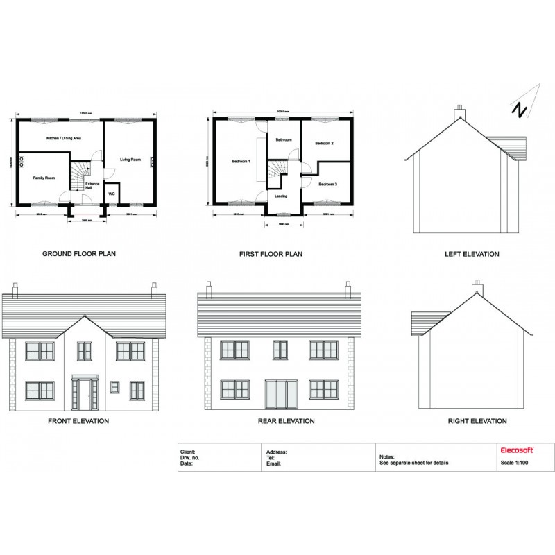 2D floors plans