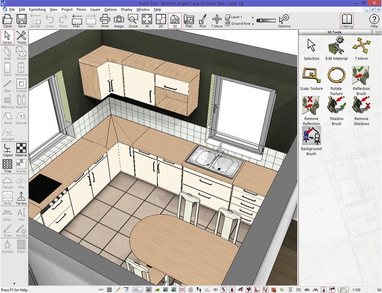 Beautiful Create 3d Home Design Contemporary - Decoration Design ...