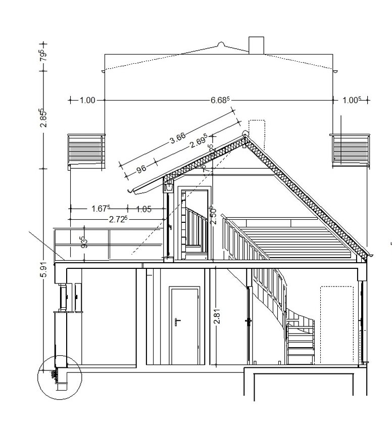 2D House Plan For Planning Submission Part 63