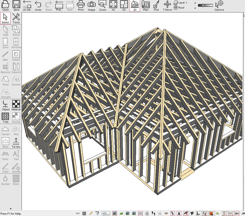 free architectural drafting software