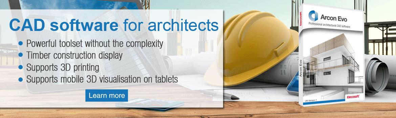 Arcon Evo architectural CAD software SWEDEN
